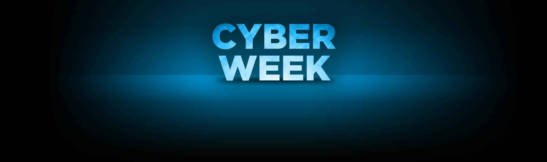 Cyber Week. 12 cuotas sin interés
