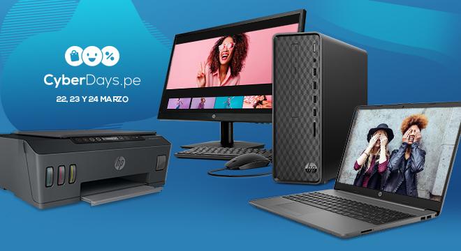 Ofertas de Cyber Days 2021 de HP Online