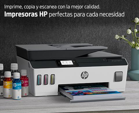 Imprime copia y escanea con la calidad HP