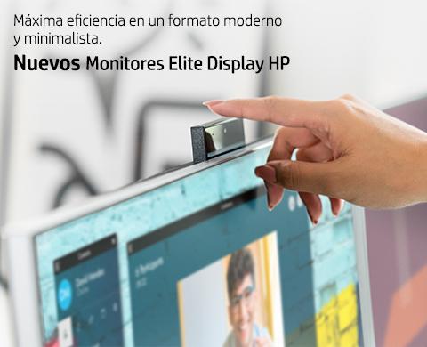 Nuevos monitores Elite HP